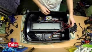 Jak Naprawić Łódkę Zanętową #10 ( Przygotowanie łódki do klejenia kadłuba )