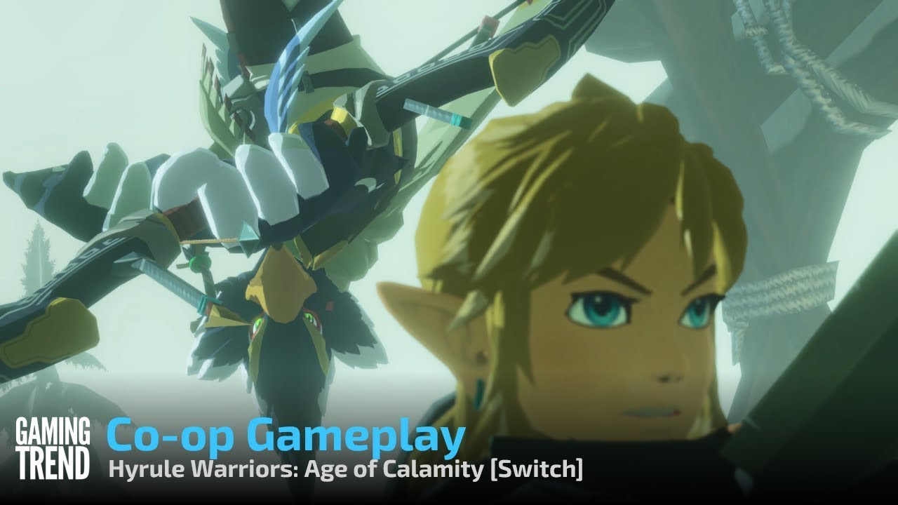 Hyrule Warriors Age Of Calamity Co Op Gameplay Switch Gaming Trend Youtube
