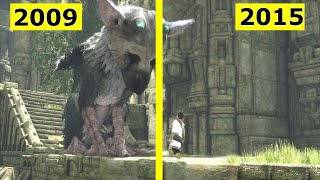 The Last Guardian - Trailer comparison | E3 2009/2015 [60fps]