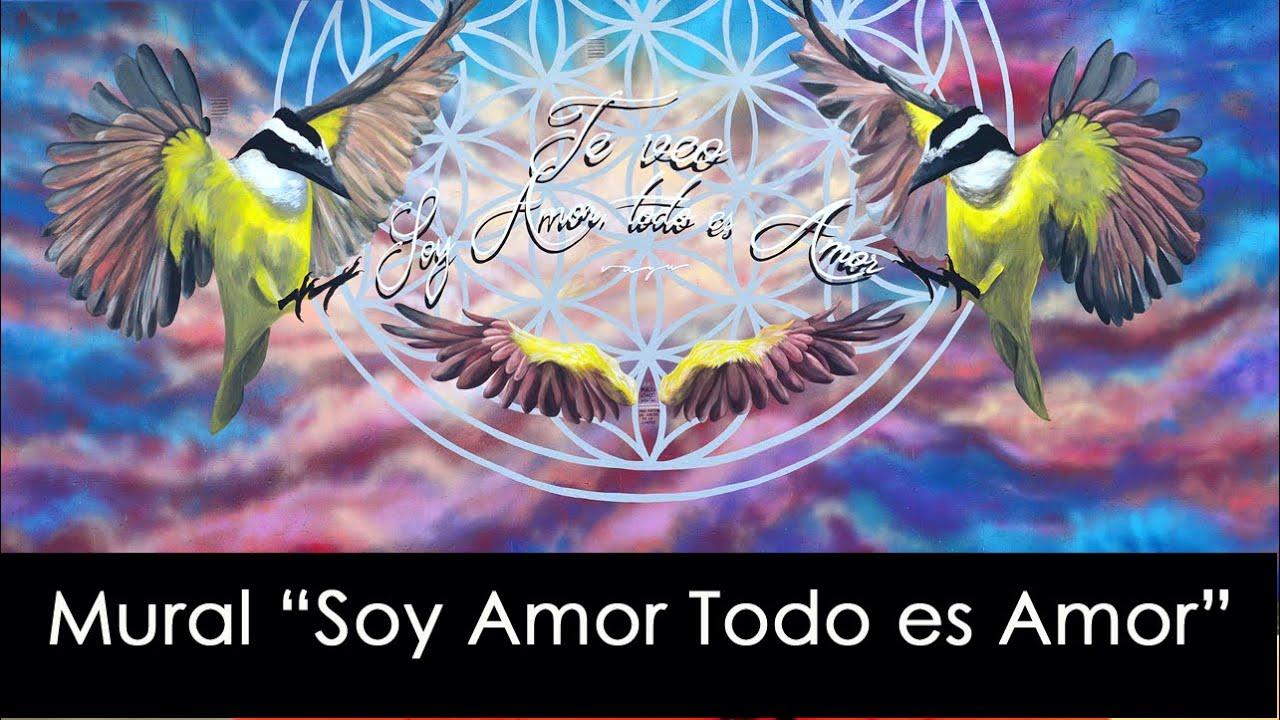 "Mural ""Soy Amor Todo Es Amor"" Pedro Vayu Gallinger 2020"