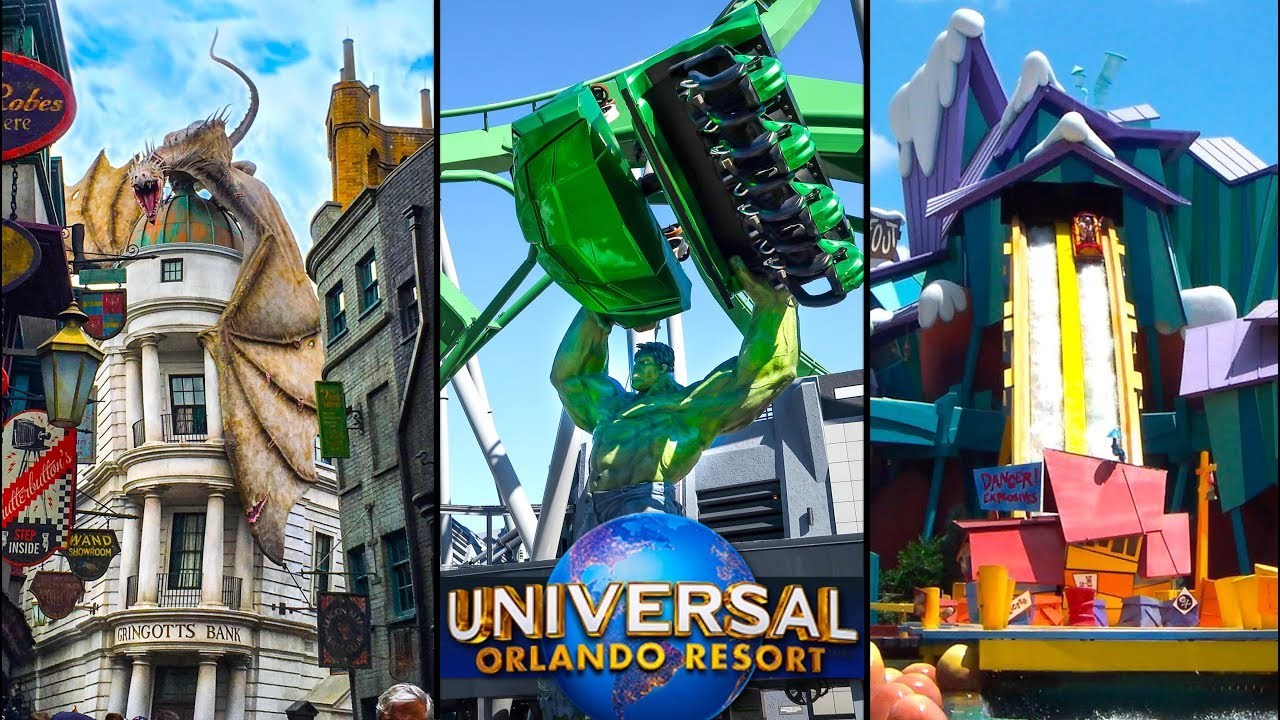 Top 10 Fastest Rides At Universal Orlando Universal Studios