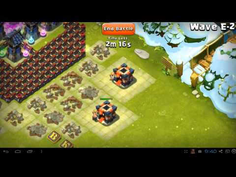 Castle Clash - Here Be Monsters - Wave E - Best Setup For Town Hall  Level 14