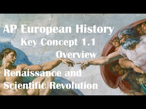 Key Concept 1.1: Renaissance and Scientific Revolution