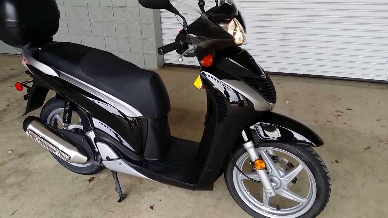 2010 Honda Sh150i Used Scooters For Sale At Honda Of Chattanooga Tn Ga Al Motorcycle Dealer