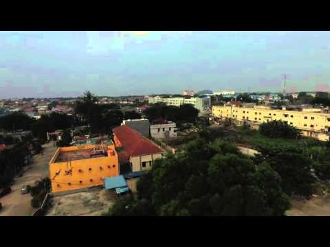 Golden Land Batam - flight sore hari - Dji Phantom 3 Pro