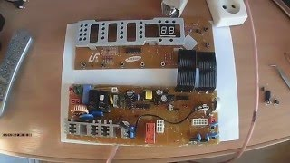 Ремонт стиральной машины SAMSUNG Неисправен блок управления(, 2016-03-31T20:49:21.000Z)