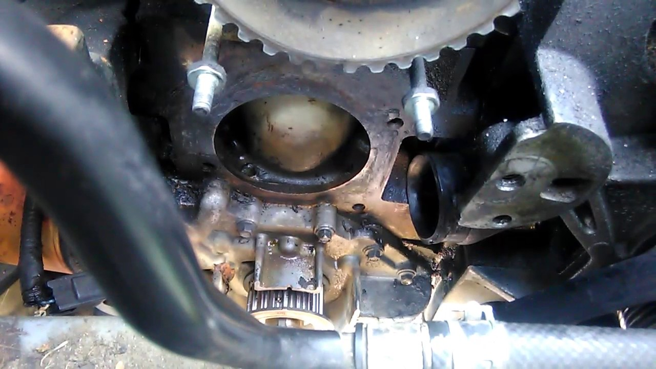 1995 ford escort timing marks and water pump