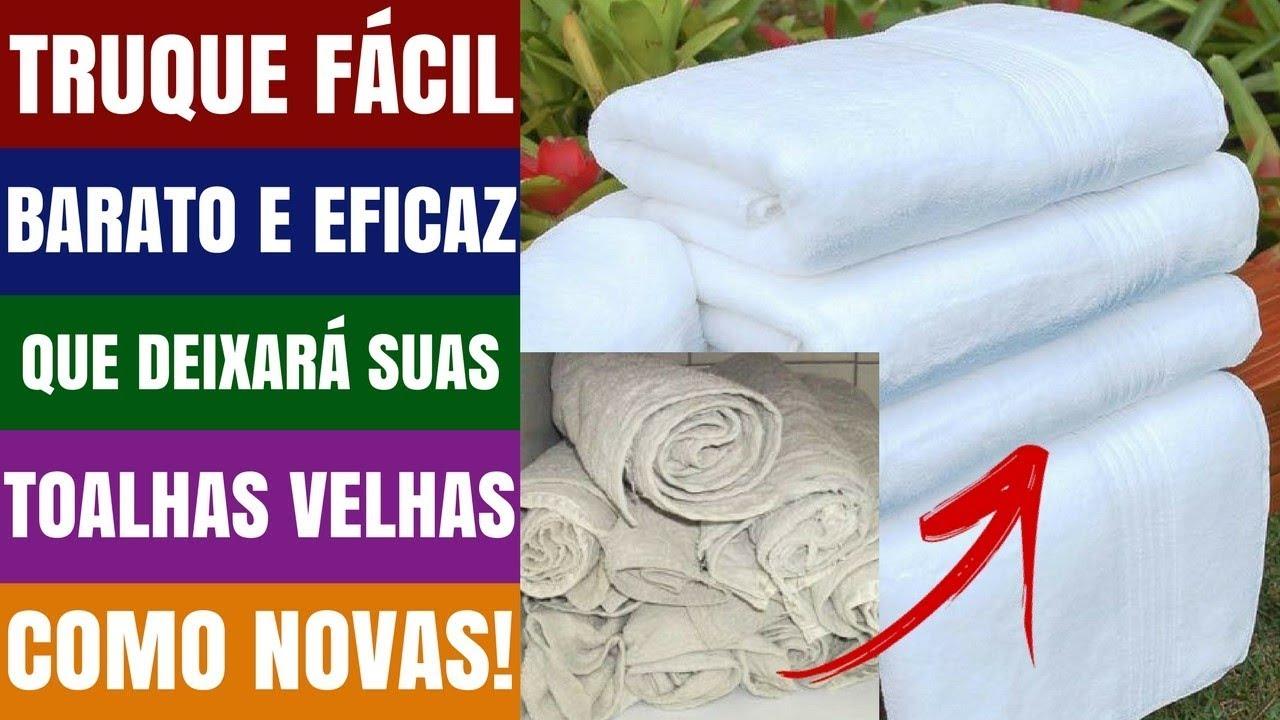 como lavar toalhas novas