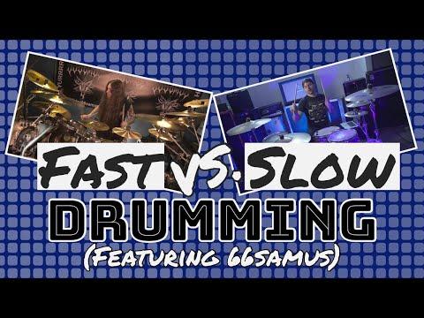 ROADKILL - Fast Vs Slow Drumming.