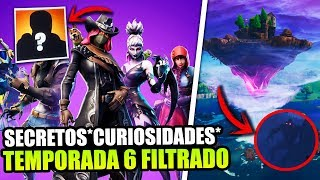 *DERIVA HAS BEEN IDO* NEW SECRETS AND CURIOSITIES *SEASON 6* FILTERED . FORTNITE BATTLE ROYALE