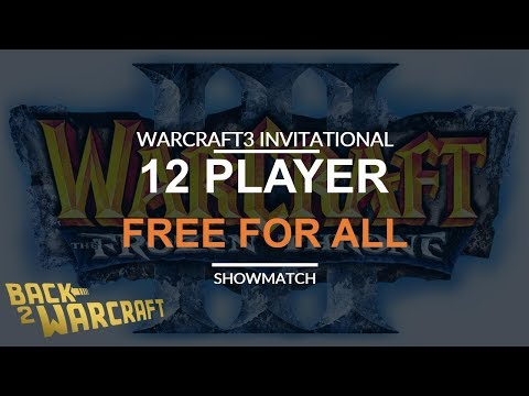 WC3INV 2018 - 12 Player Free For All