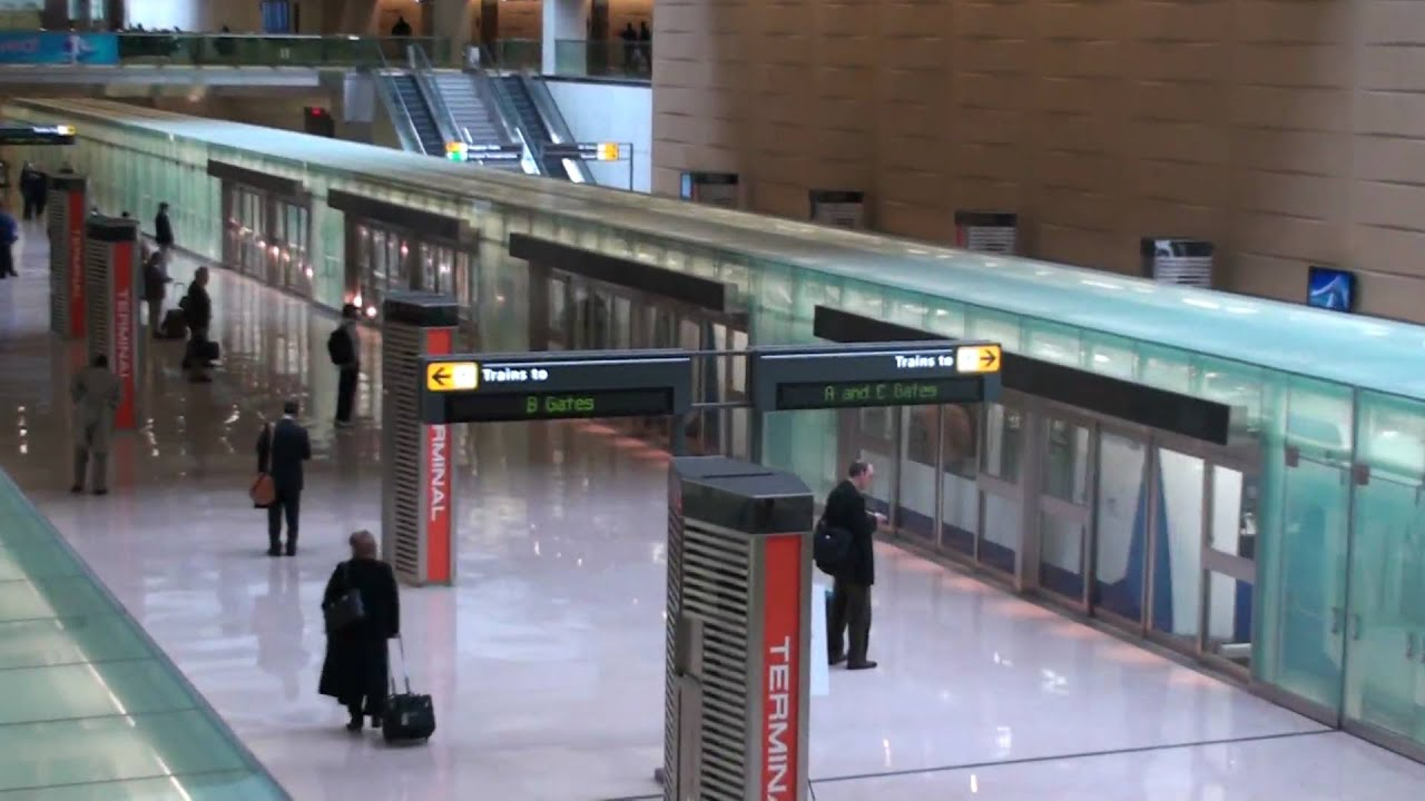 Washington Dulles International Airport - Aerotrain has ...