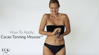 Easy to apply, completely natural tan? Yes, PLEASE! Eco Tan's self ...