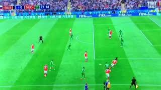 Russia 3 - 0 Suudi Arabistan - Rusyanın üçüncü golü