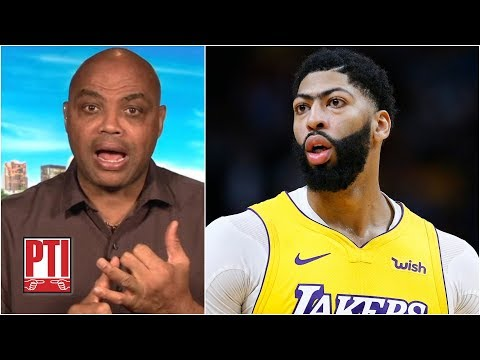 Charles Barkley: The Lakers' Success Hinges On Anthony Davis | PTI