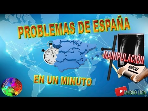 "Problems of Spain, in a minute. Today: ""Manipulation"". #frikisocial #frikisocialpolicial"