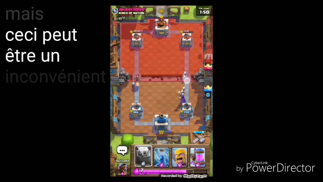 Nouveau deck ar ne 6 7 clash royale youtube for Deck arene 6 miroir