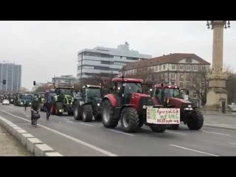 Bauernproteste Berlin