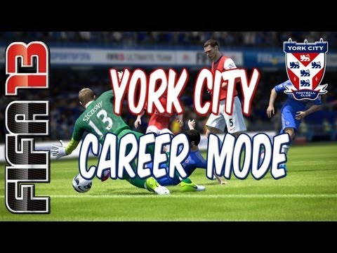 FIFA 13 Career Mode with York City I E002 I Opening Day (FIFA 13 Gameplay/Commentary)