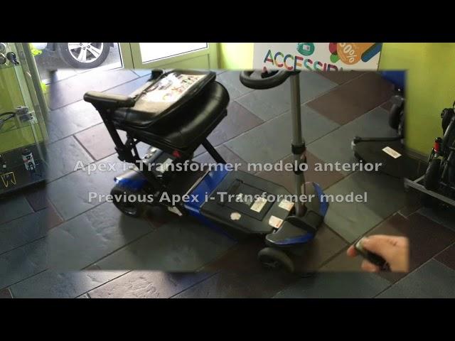 Apex i-Transformer scooter de movilidad plegable de alquiler
