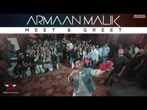 Armaan Malik First Meet & Greet Aftermovie