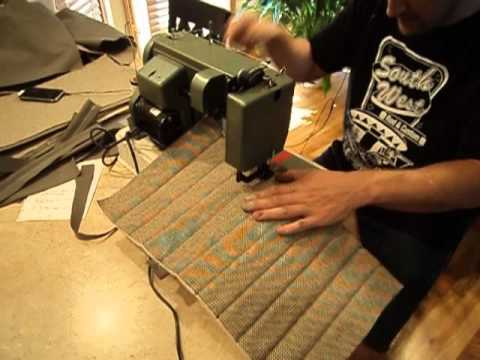 seat upholstery part 1 vw karmann ghia youtube. Black Bedroom Furniture Sets. Home Design Ideas