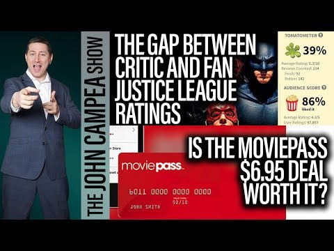 Justice League's Gap Between Critic And Audience Scores - The John Campea Show