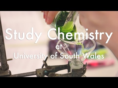 Study Chemistry at University of South Wales