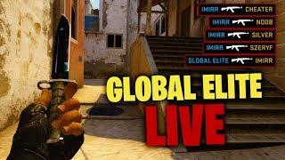 ???? KAMERKA i GLOBAL ELITE (xd) | TYDZIEŃ Z CS:GO #4 - Na żywo