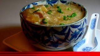 Beef Tendons And  Ginger Porridge ( For Breakfast / Snack )