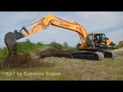 Hyundai R220LC 9A Excavator