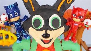 BING la VOLPE! - I Pj Masks Super Pigiamini e Splash sfidano Romeo [Challenge creativa]
