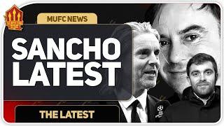 ROMANO! Sancho Deal Not Over! Man Utd Transfer News