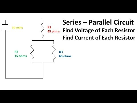 series parallel circuit problem and solution find current and rh youtube com Solving Parallel and Series Circuits Solving Parallel and Series Circuits