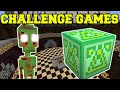 Gambar cover Minecraft: UFO ALIENS CHALLENGE GAMES - Lucky Block Mod - Modded Mini-Game