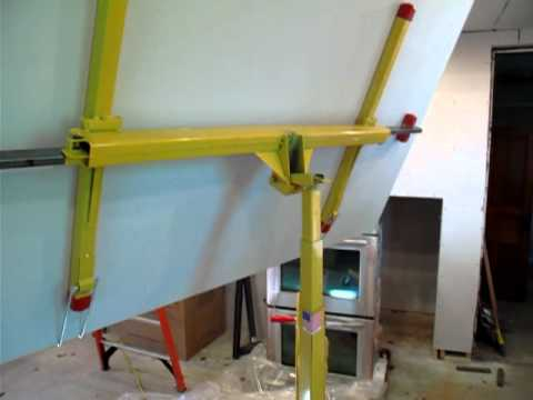 Drywall Lift Youtube