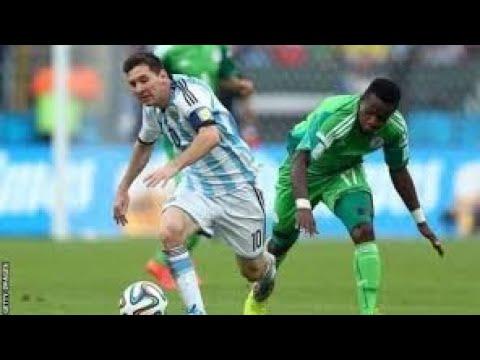 Argentina vs Nigeria  HD 14/11/2017