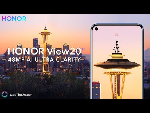 Honor View 20 Trailer Official Video