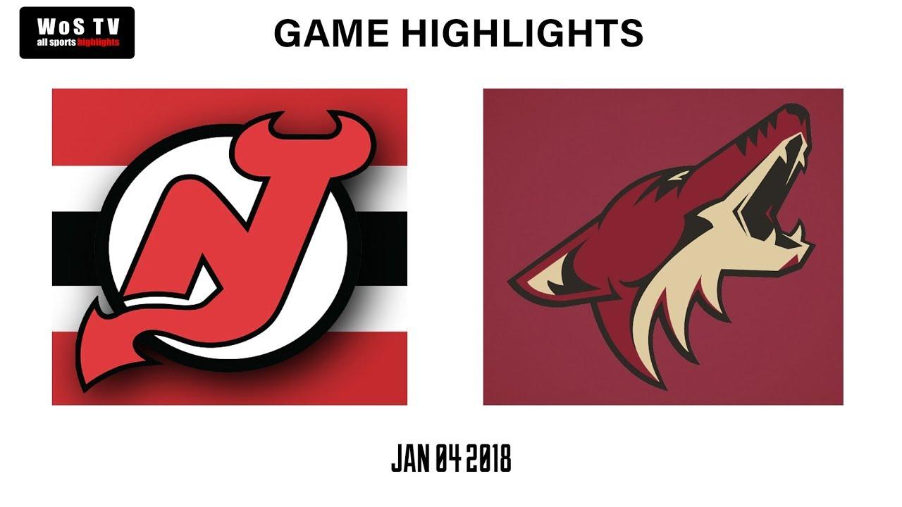 069d4cd04 NHL Highlights New Jersey Devils vs Arizona Coyotes Jan 4