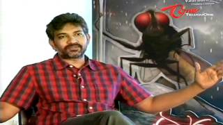 Tollywood Ace Director Rajamouli Interview about Eega - 01