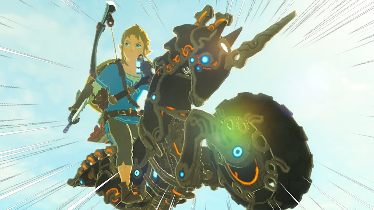 Botw Motorcycle Is Awesome Youtube