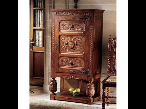 design toscano coat of arms armoire