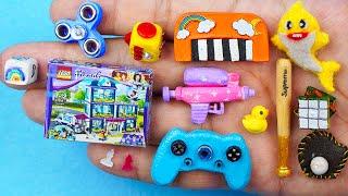 25 EASY DIY MINIATURE BARBIE IDEAS 〜 Mini LEGO, SUPEREME Baseball, Spinner and more!