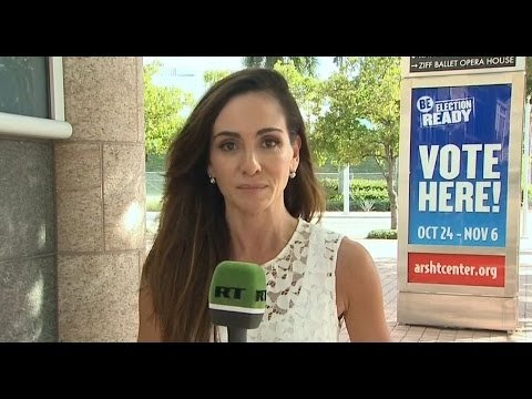 More Republicans than Democrats voting early in Florida