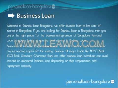 Personal Loan in Bangalore
