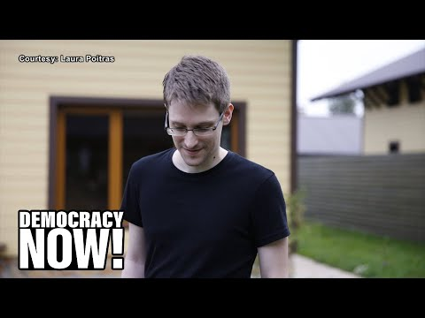 "Part 1: ""It's a War on Whistleblowers"": Snowden Pens Foreword to New Scahill Book"