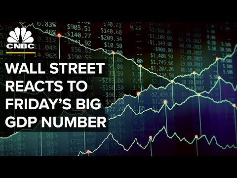 Here's How Experts and Analysts Reacted to the Big GDP Number | CNBC