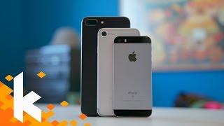 iPhone 7 vs 7 Plus vs SE - Welches kaufen?