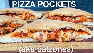 Pizza Pockets: calzones - You Suck at Cooking (episode 119)