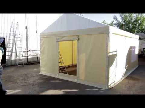 Шатёр 4,5х6,5 м., изготовление шатра в Новосибирске